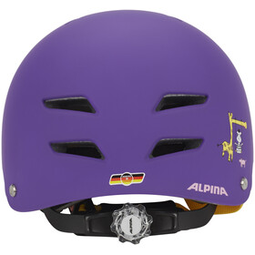 Alpina Park Jr. Helmet purple